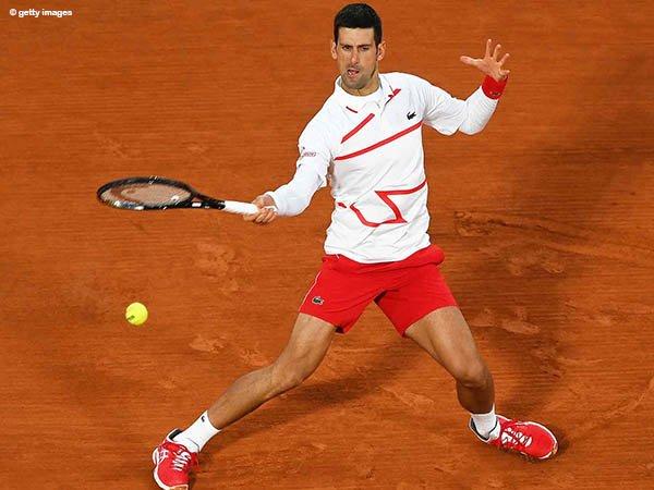 Novak Djokovic hanya kehilangan lima game di babak ketiga French Open 2020