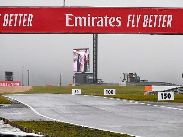 FP2 GP Eifel terpaksa dibatalkan karena cuaca tidak bersahabat.