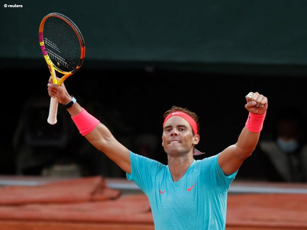 Rafael Nadal tantang petenis peringkat 1 dunia di French Open 2020