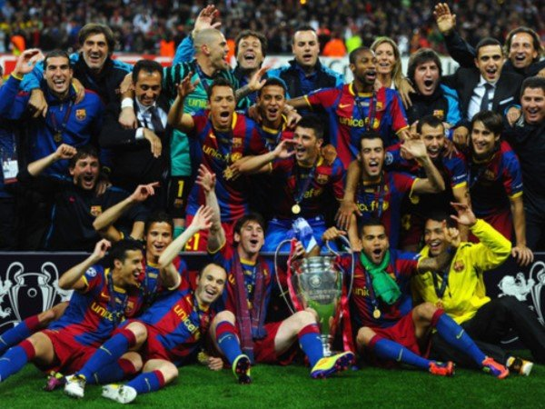 Barcelona Juara Liga Champions Karena Lionel Messi
