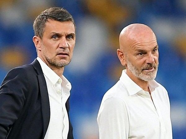 Paolo Maldini dan Stefano Pioli
