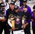 LeBron James Terpilih Sebagai Finals MVP 2020