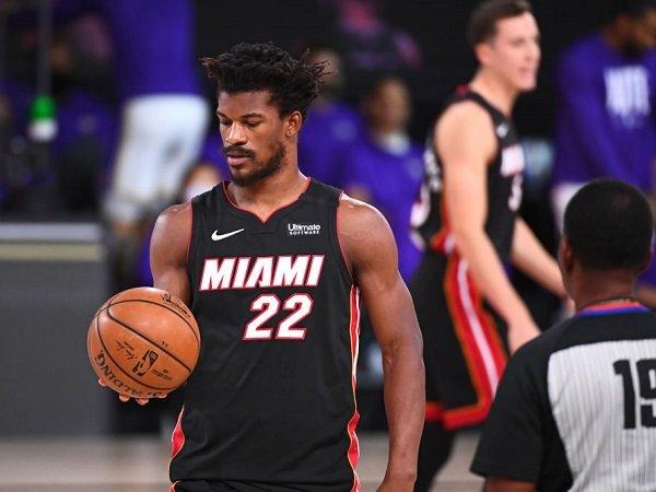 Jimmy Butler bertekad bangkit untuk jadi kampiun NBA musim depan.