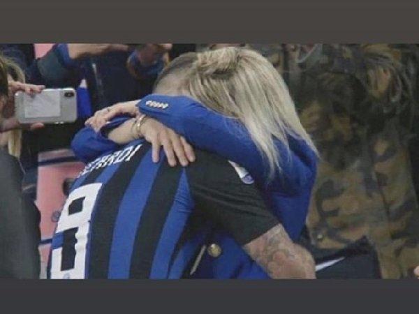 Inter Milan kalah, Wanda Nara ucapkan selamat untuk Milan