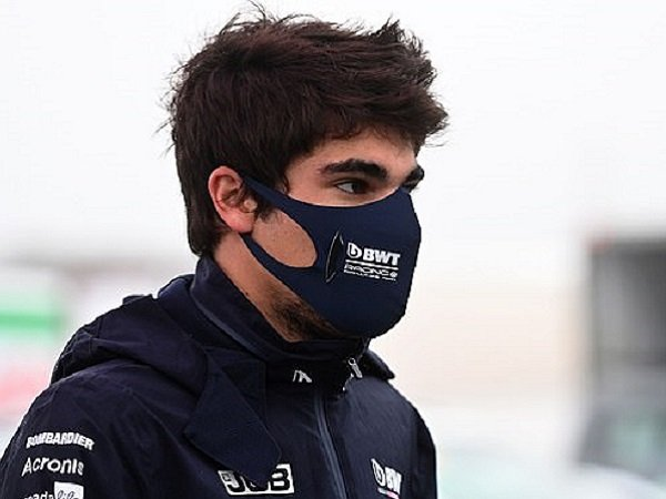 Pebalap Racing Point, Lance Stroll. (Images: Daily Mail)