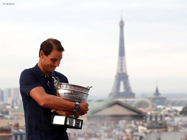Rafael Nadal siap beraksi di Paris Masters dan ATP Finals musim 2020