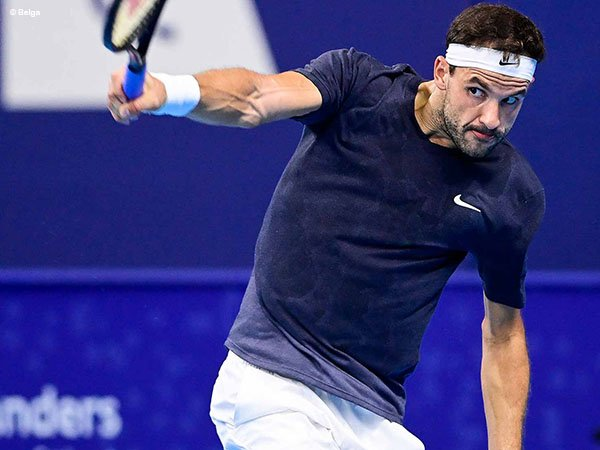 Grigor Dimitrov siap ramaikan perempatfinal European Open 2020