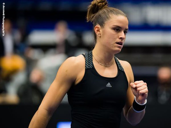 Maria Sakkari tundukkan petenis unggulan pertama di Ostrava Open