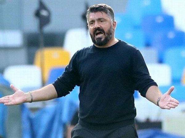 Gennaro Gattuso sebut Napoli kurang determinan kontra AZ Alkmaar.