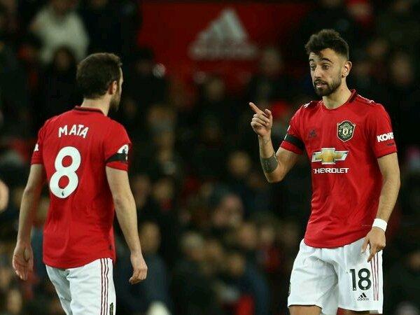 Mata mengaku bisa bekerjasama dengan baik bersama Fernandes di Manchester United