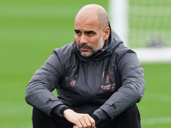 Manajer Manchester City, Pep Guardiola.