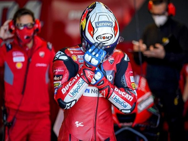 Andrea Dovizioso tak lagi ngotot untuk jadi kampiun musim ini.