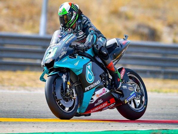 Fabio Quartararo terkesan dengan performa apik Franco Morbidelli di GP Teruel.