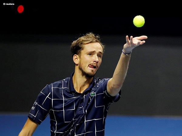 Daniil Medvedev akan meramaikan Vienna Open untuk kali pertama