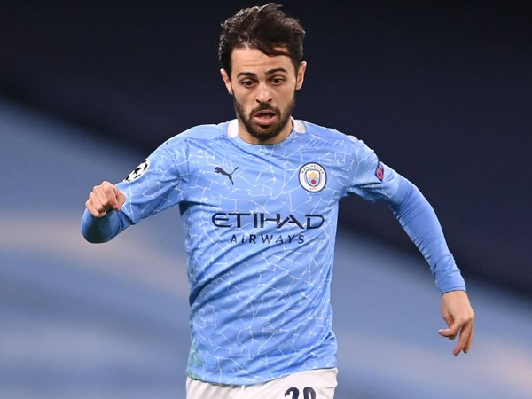 Winger Manchester City, Bernardo Silva.