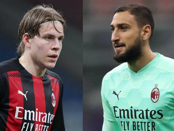 Milan akan tanpa Hauge dan Donnarumma