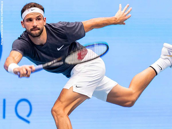 Grigor Dimitrov melaju perempatfinal Vienna Open untuk kali pertama