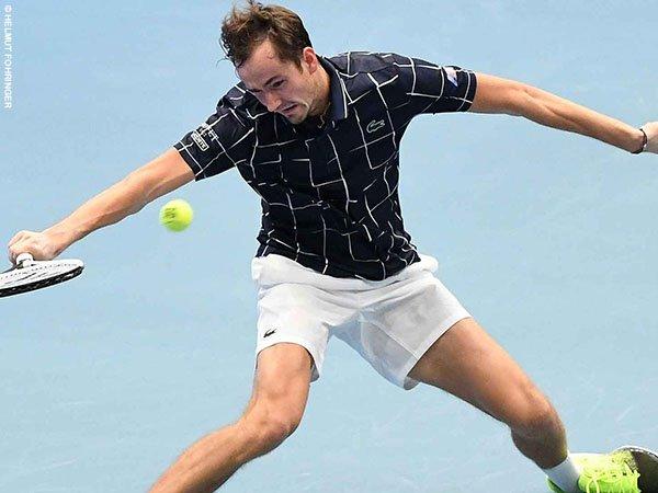 Daniil Medvedev melenggang ke perempatfinal Vienna Open 2020
