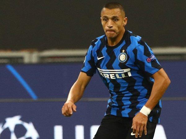 Striker Inter Milan, Alexis Sanchez.
