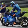 Valentino Rossi Bahagia Sang Adik Akhirnya Tampil di MotoGP