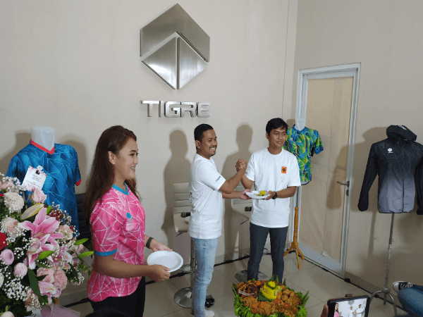Peluncuran Tigre Sportsgear, Rabu(11/11), untuk aparel Liga 3.