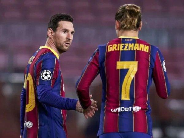Ivan Rakitic tak melihat ada keretakan diantara Antoine Griezmann dengan Lionel Messi