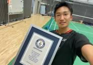 Kento Momota Dapat Penghargaan Guinness Book Records
