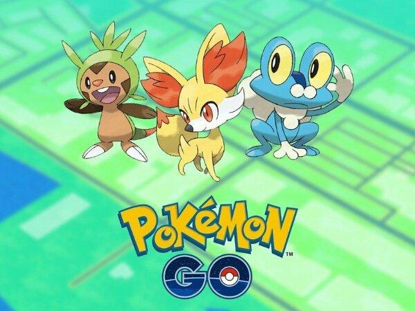 Pokémon Gen 6 Resmi Hadir di Pokémon Go