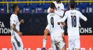 Tembus Semifinal Nations League, Italia Tak Sabar Hadapi Lawan Berat