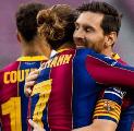 Diego Simeone Menolak Komentari Tak Akurnya Griezmann dengan Messi
