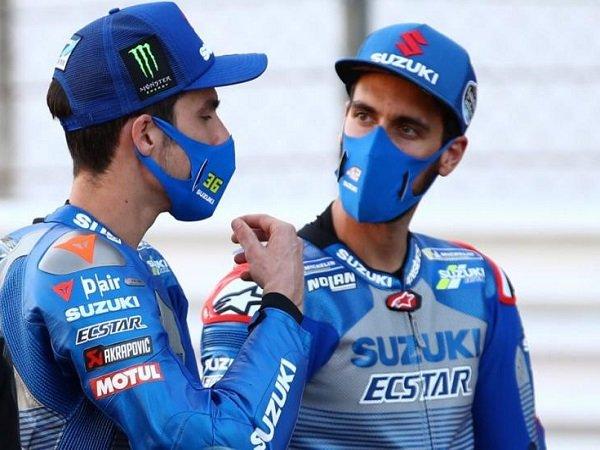 Suzuki puas akan performa dua pebalapnya di hari pertama GP Portugal.
