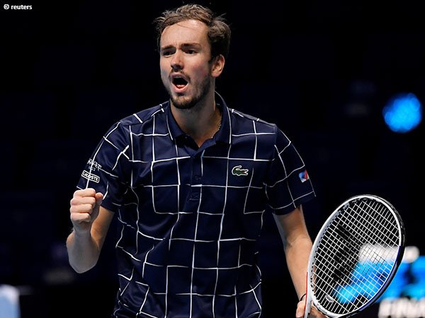 Tembus Finals, Daniil Medvedev belum terkalahkan di ATP Finals 2020