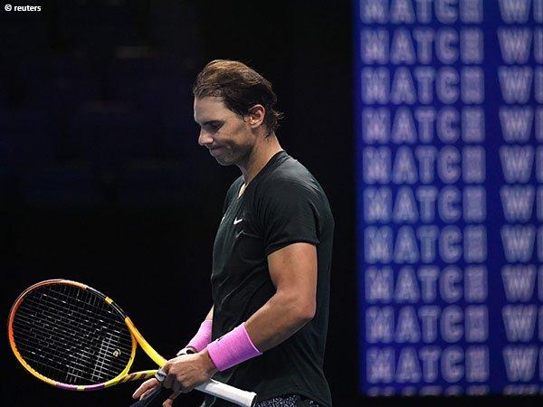 Musim ini, Rafael Nadal masih belum berpeluang untuk memenangkan gelar ATP Finals pertamanya