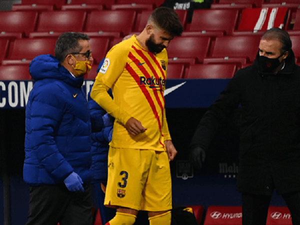 Ronald Koeman khawatir dengan cedera yang dialami Gerard Pique.
