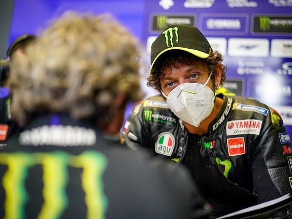 Valentino Rossi alami pengalaman pahit setelah dinyatakan positif COVID-19.
