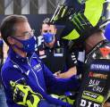 Valentino Rossi Penuh Haru Berpisah Dengan Tim Pabrikan Yamaha