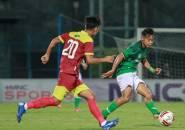 Kevy Syahertian Jalani Latihan Mandiri di Sawah Berlumpur