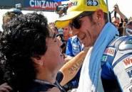 Valentino Rossi Kenang Pertemuan Berkesannya dengan Mendiang Maradona