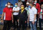 Menpora dan PSSI Pantau Kesiapan Stadion Si Jalak Harupat untuk Piala Dunia