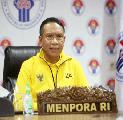 Menpora Apresiasi Wushu Indonesia Tetap Kreatif di Tengah Pandemi Covid-19