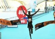 Kibiwott Kandie Pecahkan Rekor Dunia Half Marathon