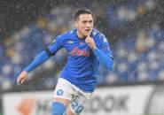 Napoli Puncaki Grup Liga Europa, Piotr Zielinski Bahagia