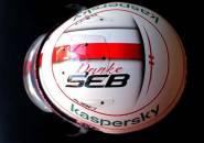 Beri Honor Pada Vettel, Charles Leclerc Pakai Helm Spesial di GP Abu Dhabi