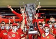 Ferrari Berikan Trofi Bentuk Salam Perpisahan untuk Vettel