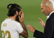 Zidane Bantah Isco Tak Punya Masa Depan di Madrid