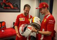 Charles Leclerc Emosional Saat Berpisah Dengan Sebastian Vettel