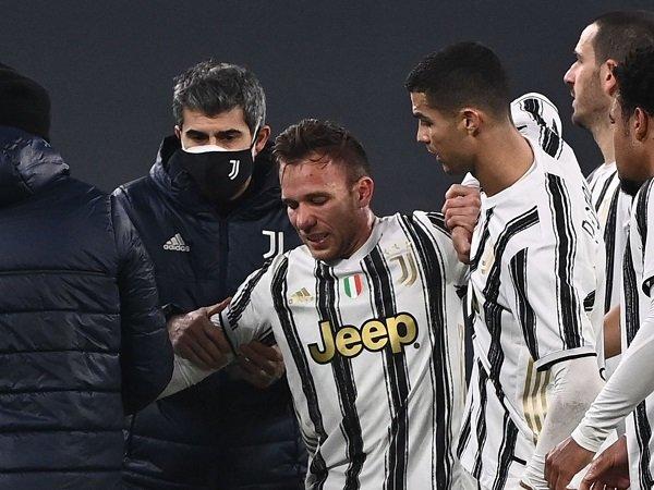 Arthur Melo diprediksi absen saat Juventus hadapi Parma.