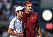 Ketika Hadapi Roger Federer, Begini Perasaan Yoshihito Nishioka