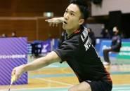 Kento Momota Jalani Debut Turnamen Kompetitif Setelah 11 Bulan