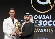 Komentar Cristiano Ronaldo Usai Menangkan Player of the Century di Dubai